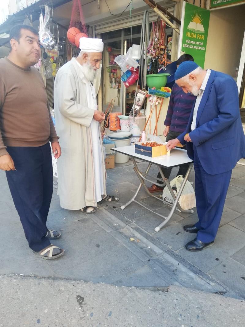 HÜDA PAR'DAN MEVLİD-İ NEBİ TATLISI