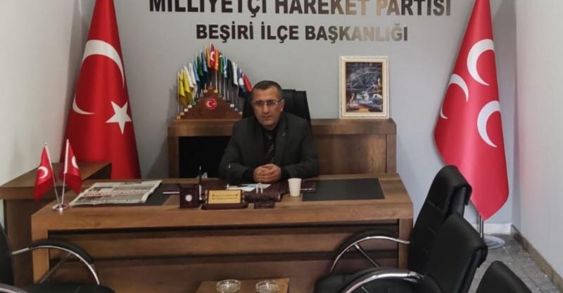 MHP Beşiri Parti Binası Açıldı