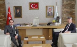 Şener'den Bismil Kaymakamına Ziyaret
